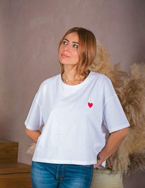 All'egra T-shirt Norah Blanc